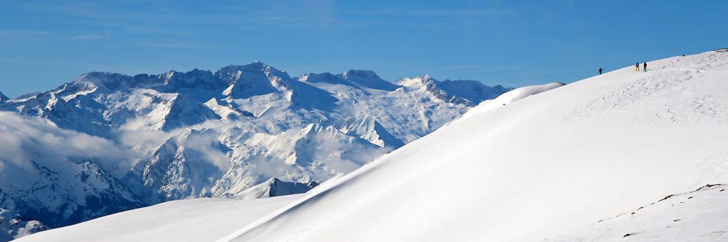 Belle vue sur le massif de la Maladetta