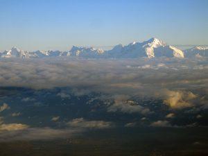 Le Mont Blanc vu d'avion !