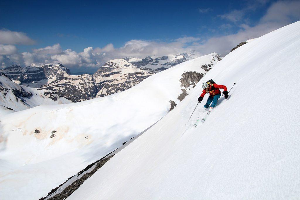 Sur le haut avec vue sur le Mont Perdu